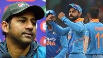 World Cup 2019 : Sarfaraz Ahmed don't doubt Team India's lost against England   वनइंडिया हिंदी