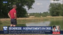 14 départements sont en situation de crise à cause de la sécheresse et donc touchés par des mesures de restrictions d'eau
