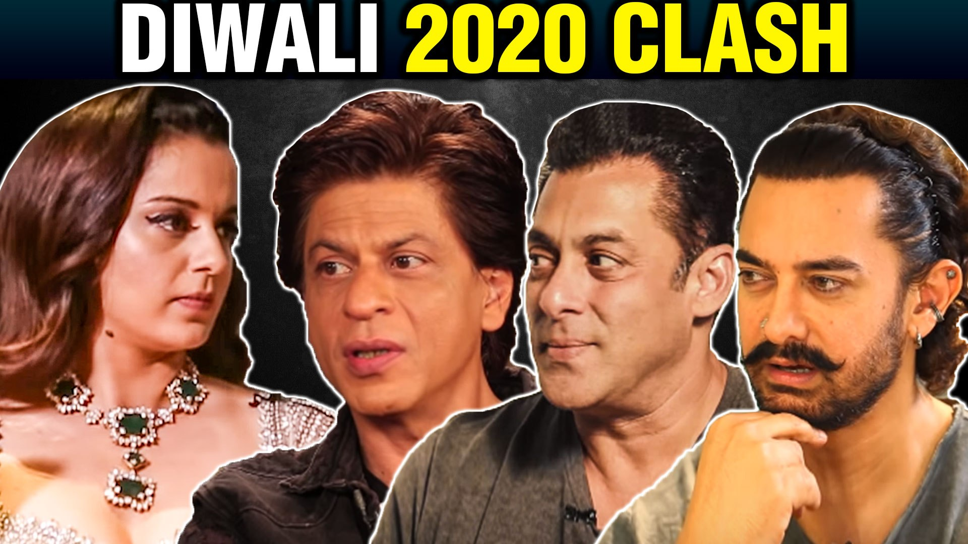 Kangana Ranaut To CHALLENGE Khans This Diwali With Dhaakad | First Poster  Out | SRK, Salman, Aamir