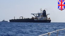 British Marines seize Iranian oil tanker allegedly on its way to Syria