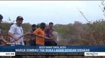50 Personel Polri Bantu Padamkan Kebakaran Lahan Gambut di Aceh Barat Daya