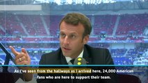 Tournament has been a game changer - President Macron