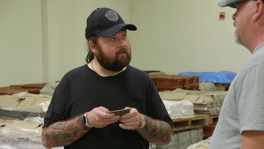 Pawn Stars: Bank Note Plates Give Chumlee an Idea