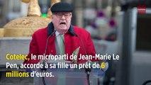 Jean-Marie Le Pen sollicite l'État pour récupérer 4,5 millions d'euros