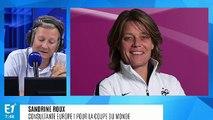 """Sandrine Roux sur la coupe du monde de football féminine : """"Un quart de finale pour les Bleues, ce n'est pas un bon résultat"""""""