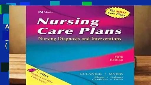 About For Books  Nursing Care Plans: Nursing Diagnosis and Intervention (Nursing Care Plans: