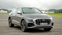 Audi SQ8 Design in Daytona Gray