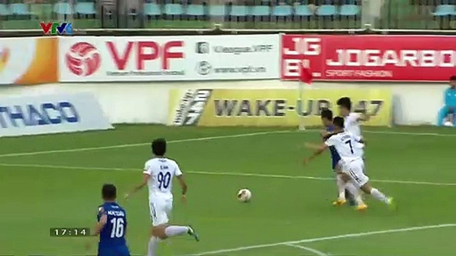 Tỏa sáng giúp Quảng Nam đánh bại HAGL, Hà Minh Tuấn xứng danh chân sút nội số 1 V.League 2019