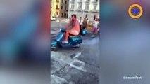 Mario Balotelli défie le propriétaire d'un bar à Naples