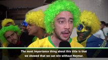 Rio reacts to Brazil's Copa America victory