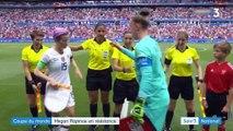 La Coupe du monde féminine de football a sa star avec Rapinoe la rebelle