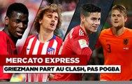 Mercato Express : Le Barça va payer la clause de Griezmann