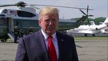 """Trump advierte a Irán que """"tenga cuidado"""" con el enriquecimiento de uranio"""
