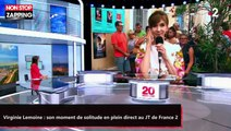Virginie Lemoine : son moment de solitude en plein direct au JT de France 2 (vidéo)