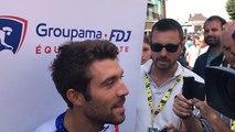 Tour de France étape 3 interview de Thibaut Pinot