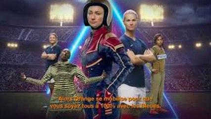 Coupe du Monde Féminine de Football - 100% avec les Bleues - Orange