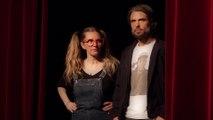 « Derniers Baisers » :  Anthony Dupray et Annette sur les planches