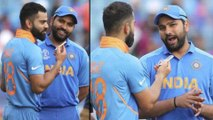 ICC Cricket World Cup 2019 : Virat Kohli Interviews Rohit Sharma After India Defeated Sri Lanka