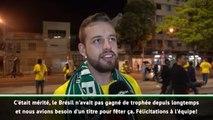 Copa America - Les réactions des supporters brésiliens