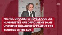 Michel Drucker balance sur la rivalité entre les humoristes de...