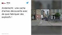 Belgique : Des explosifs découverts dans une cache à Anderlecht