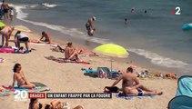 Que faire si un orage éclate alors que vous êtes sur une plage ? Un secouriste donne quelques conseils