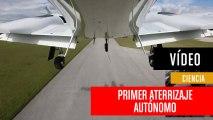 Primer aterrizaje completamente autónomo de un avión