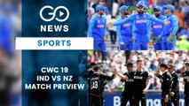CWC19, 1st Semi-Final - India vs New Zealand (Preview)