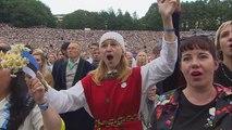 Une chorale géante pour marquer les 150 ans du Festival du chant estonien