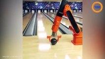 Ce robot est imbattable au bowling