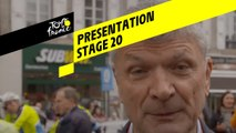 Tour de France 2019 - Presentation - Stage 20
