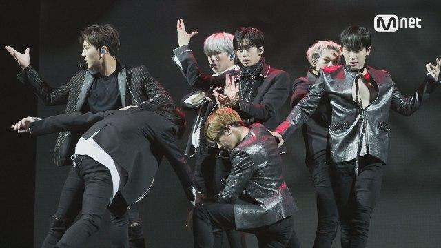 KCON 2017 AUSTRALIA×M COUNTDOWN 몬스타엑스(MONSTA X) _ Intro + Shine Forever