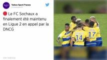 Ligue 2 : Sochaux maintenu en appel par la DNCG