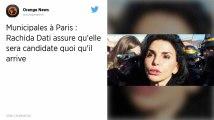 Municipales à Paris. Rachida Dati « déterminée » à être candidate