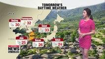 Heatwave continues in Seoul, monsoon rain returns on Wednesday _ 070819