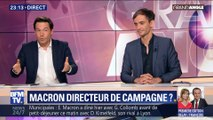 Macron directeur de campagne ?