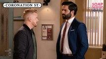Coronation Street Soap Scoop! Gary admits responsibility for Rana's death