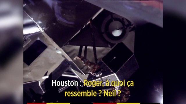 Apollo 11 entre héroïsme et improvisation - Épisode 3 : la descente