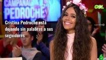 """""""¡Tápate descarada!"""" Ojo a la foto de Cristina Pedroche: """"¡Ni Anna Simón!"""""""