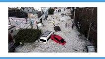 Questa città messicana è stata sommersa da due metri di grandine in pieno giugno (video)