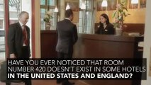 Have you ever noticed that room number 420 doesn't exist in some hotels
