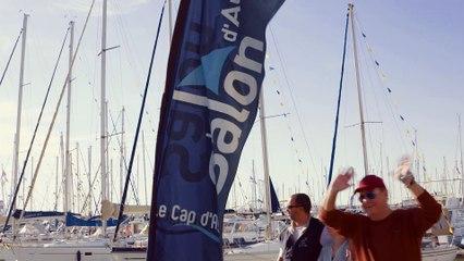 Nous sommes allés au salon nautique au Cap d'Agde