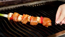 Chicken Skewers with Hoisin Sauce