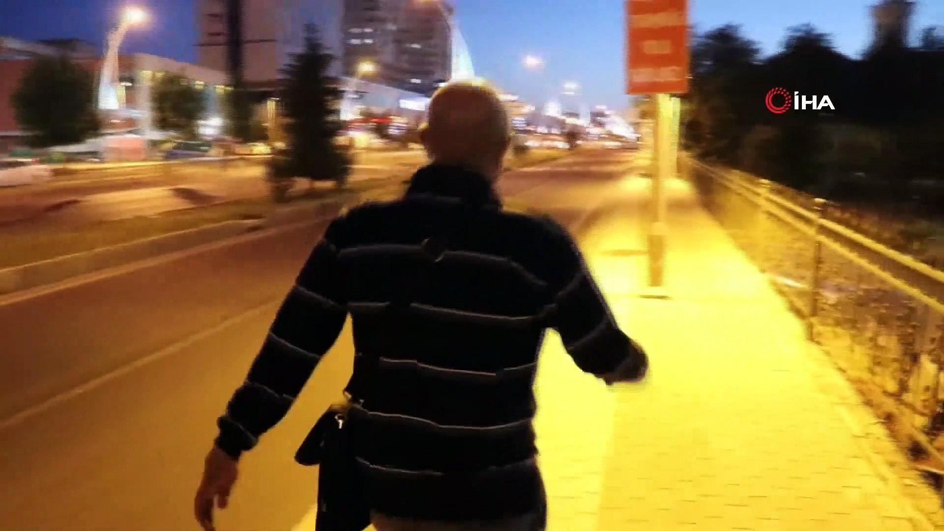 Kayısı için Ankara'ya yürüyerek gidiyor