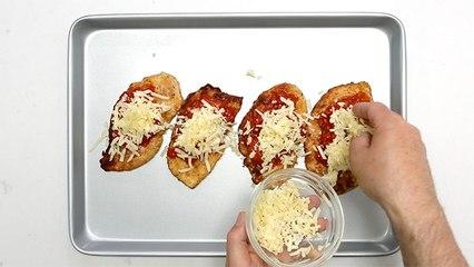 Escalopes de poulet panées alla parmigiana