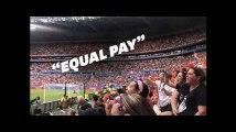 Mondial féminin: les spectateurs ont fait passer un message au président de la Fifa