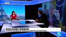 """Nucléaire iranien : """"L'Iran veut signifier aux Européens que leur passivité à un coût"""""""