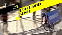 Last kilometer / Flamme rouge - Étape 3 / Stage 3 - Tour de France 2019
