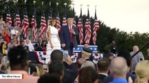 Trump Says 'Fake News And Democrats' Don't Want To Report On Massive July 4 Crowd