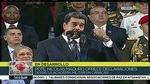 Nicolás Maduro: FANB garantiza en Venezuela la paz y la patria